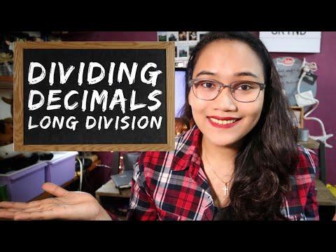 Dividing Decimals - Dividing Numbers Part 2
