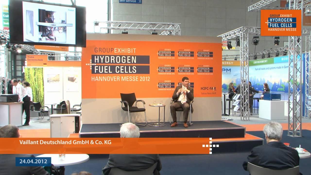 Vaillant Deutschland GmbH & Co  KG at the 18th Group Exhibit Hydrogen +  Fuel Cells