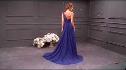 Chiffon One Shoulder A-line Bridesmaid Dress - Adasbridal (WBD21835)