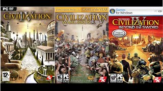 Full OST Civilization IV (+ Expansions Warlords & Beyond the Sword)