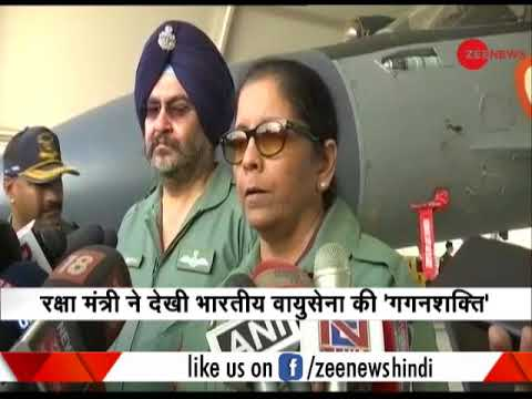 Air Force is getting prepared for war situations: Nirmala Sitharaman