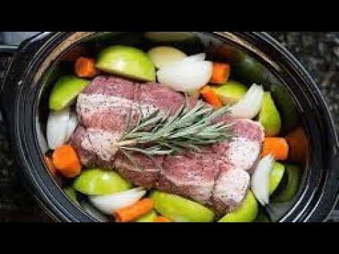 How To Make Honey Glazed Apple Pork - Slow Cooker Pork Joint