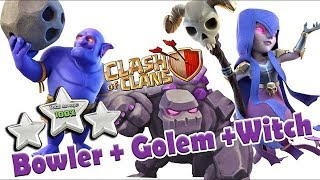 GoWiWi + Bowler = GoBoWi TH9 Attack Guide | TH9 SUPER STRONG WAR ATTACK STRATEGY Clash of Clans