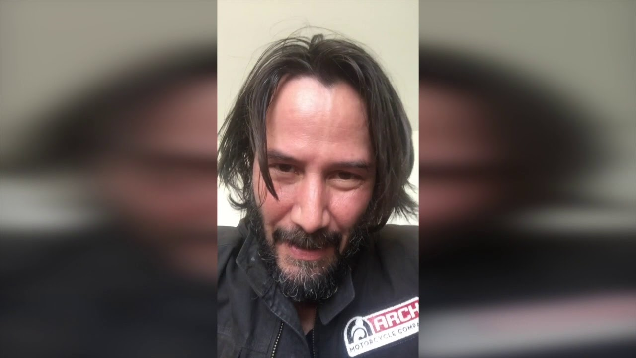 Keanu Reeves video introduction to POINT BREAK [19th ...