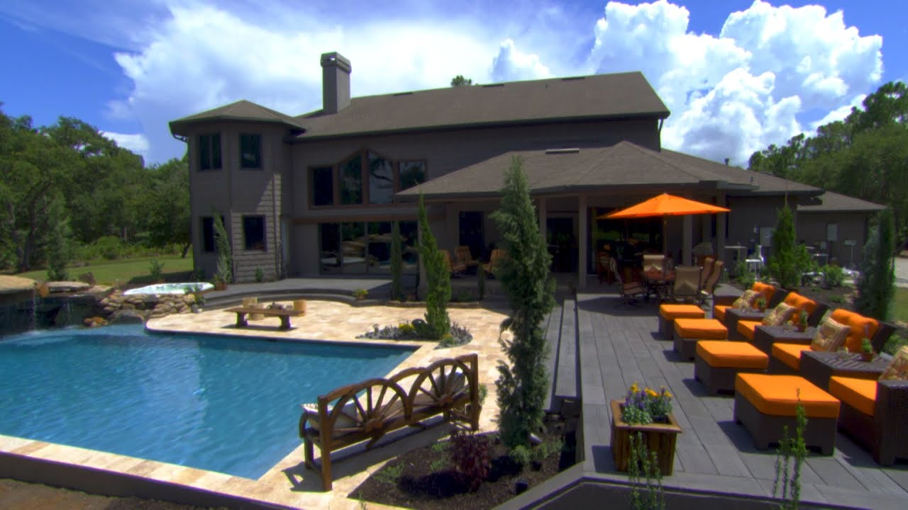 family sees their colorado dream pool for the first time insane