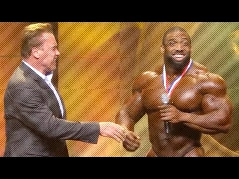 Cedric McMillan Winning Speech | Arnold Classic 2017