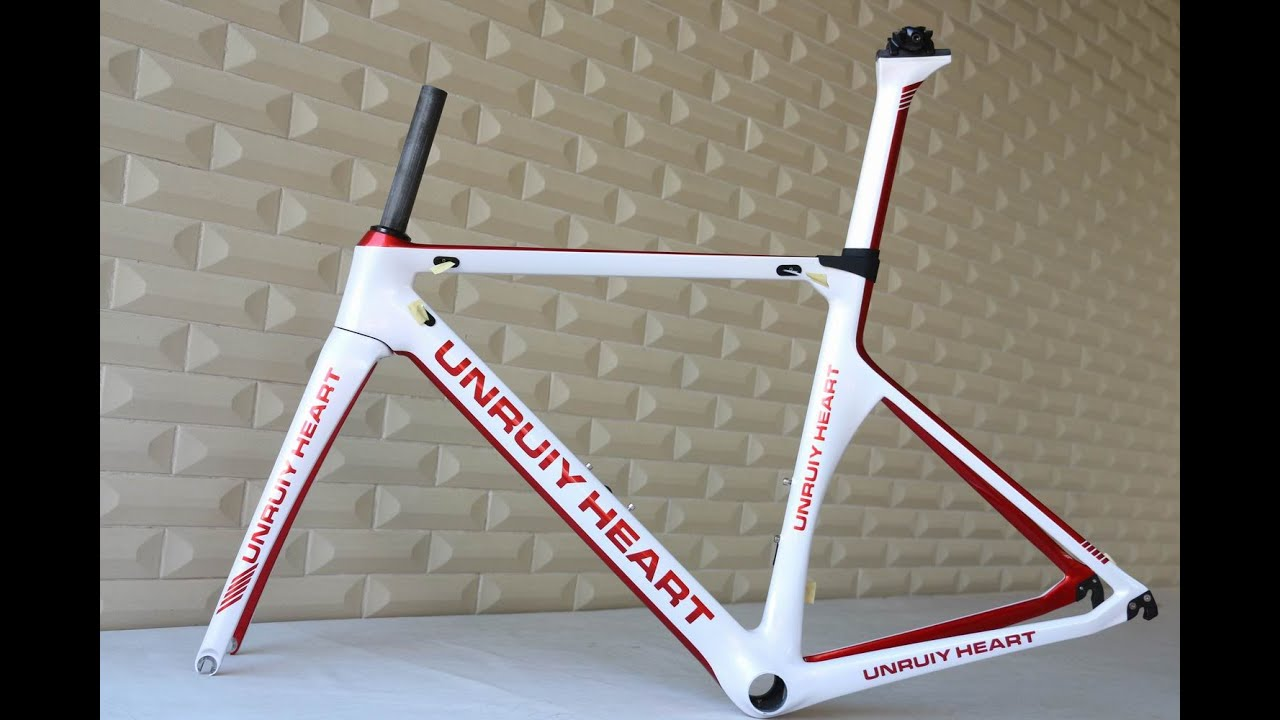 Custom Painting Chinese Carbon Aero Road Bicycle Frame