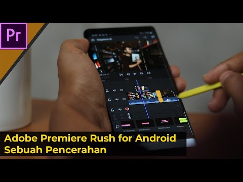 Adobe Premiere Rush For Android!!! Pencerahan+Tutorial