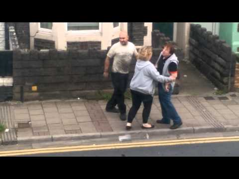 Funny Street Fight Cardiff