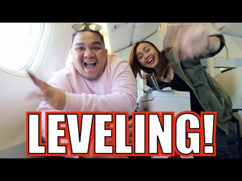 FIRST TIME MAG BUSINESS CLASS FLIGHT (PARA SA THAILAND!)   LC VLOGS  #159