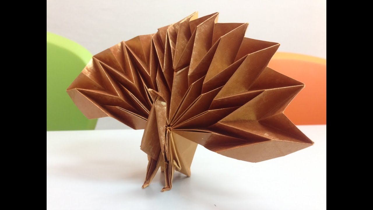Maekawa Peacock Step 56 To 59 As Requested By You Malaysia Origami