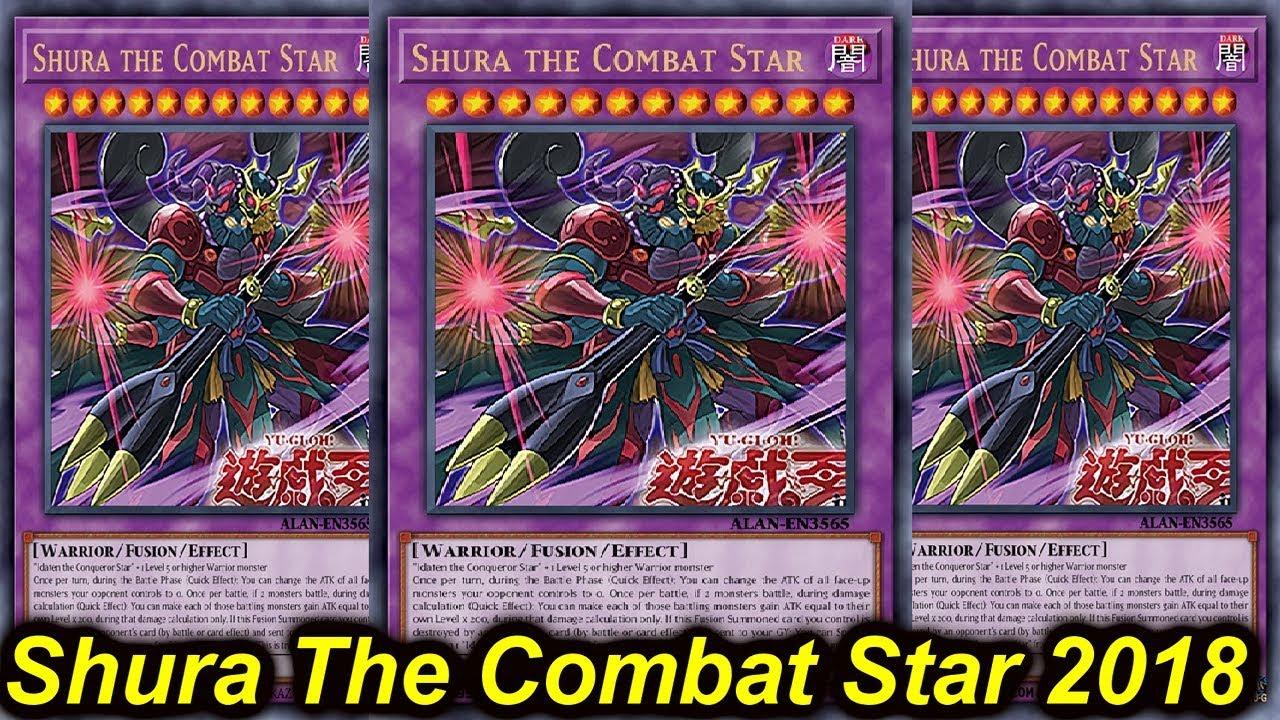 【Ygopro】Shura The Combat Star Deck 2018  Yu-Gi-Oh-Tube 10:03 HD