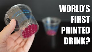 Smart Cups Review: World's First PRINTED Beverage?