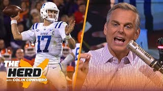 Colin Cowherd begs Giants not to take Daniel Jones, explains how draft busts happen | NFL | THE HERD