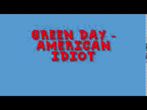 Green Day - American Idiot - FREE MP3 DOWNLOAD