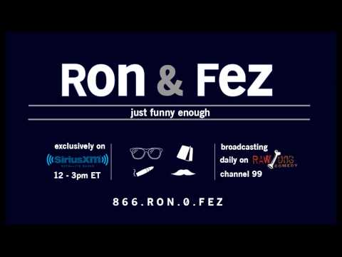 Ron and Fez: Urinal etiquette, lots of Uh Huh/Hicks ball busting, Blow Bangs, Davey Mac Sports
