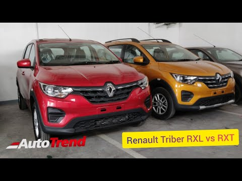 Renault Triber RXL Vs RXT: Which one is the Better Value Pick ? Detailed Comparison !!