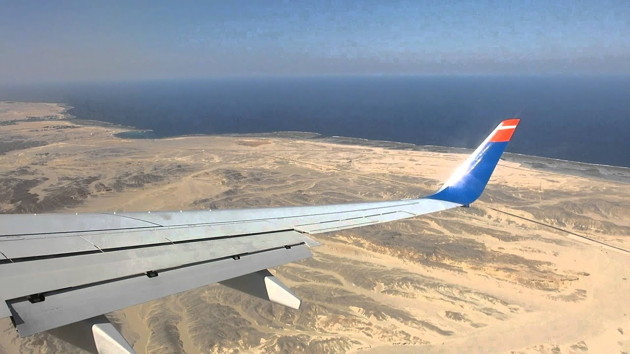 Landing At The Airport Marsa Alam Youtube