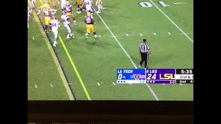 LSU vs LA Tech live gameplay September 22, 2018