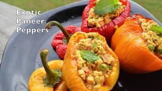 Stuffed Bell Peppers | Bharva Shimla Mirch | Exotic veg Indian Sabzi by CK Epsd. #362