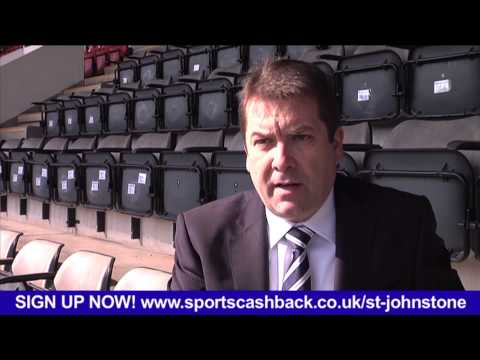 Interview with David Longmuir on Sports Cashback's deal with St. Johnstone