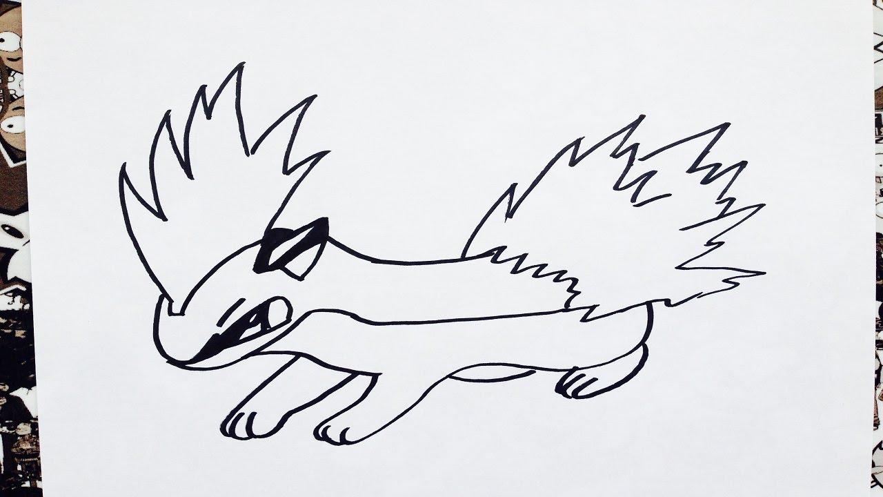 Como Dibujar A Quilava