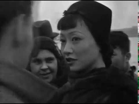 """""""Anna May Wong Visits Shanghai, China"""" (5/1/1936)"""