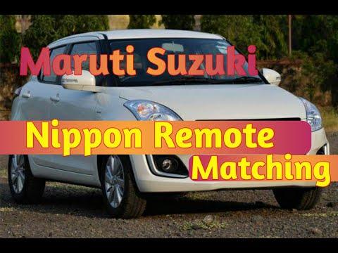 Remote programing of maruti suzuki Nippon