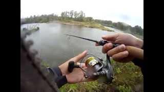 Классная ловля щуки на джиг на малой реке