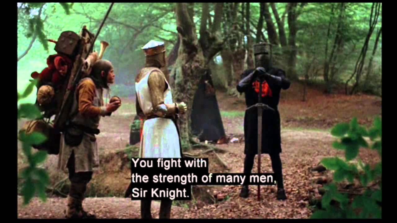 Download clip4 Black Knight -Monty Python and the Holy Grail (1975)