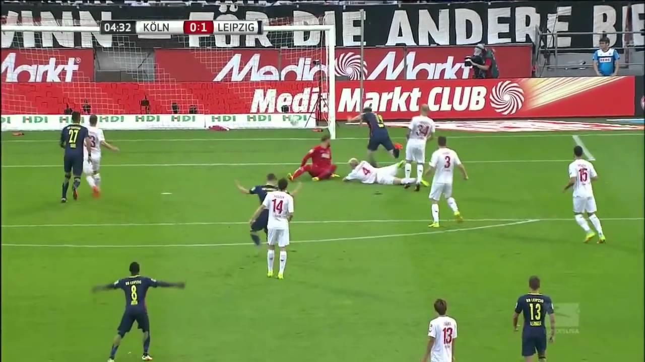 1 Fc Koln Vs Rb Leipzig Round 5 Bundesliga Highlights 25
