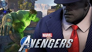 Marvel's Avengers Game - NEW Hulk Gameplay!