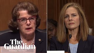 """""""The dogma lives loudly in you"""": Democratic senator on Amy Coney Barrett"""