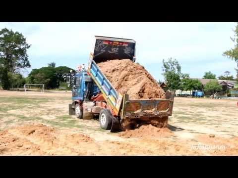 รถ 6 ล้อ เทดิน ดั้มดิน ขนดิน Trucks Thailand
