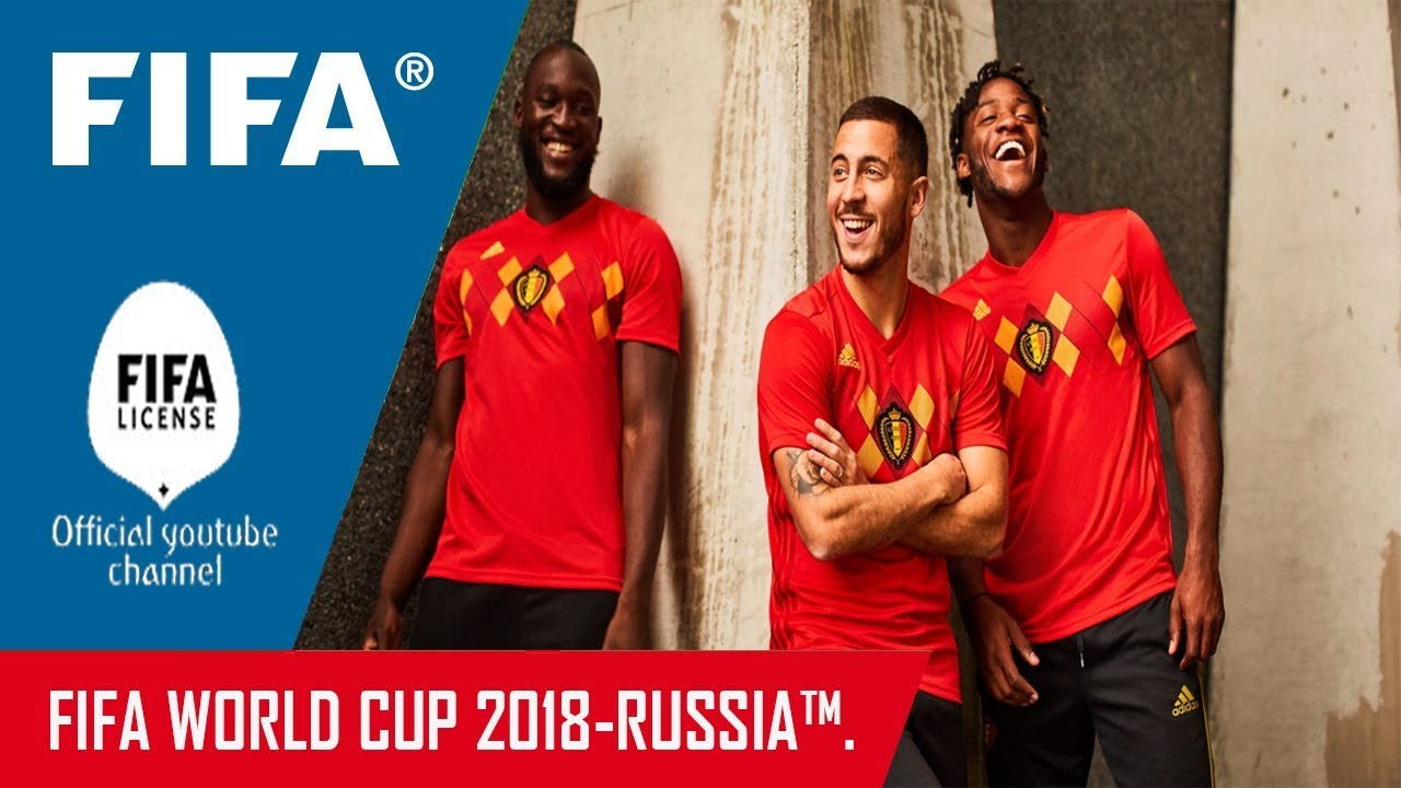 d879497f9 Belgium Football (RBFA) 2018 World Cup Russia Home Kit Released ...