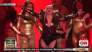 [HD] Christina Aguilera - Dirrty Live at CNN New Year's Eve 2020