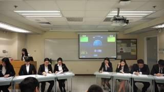 2017年香港新生杯辩论赛初赛第二场 香港城市大学vs香港浸