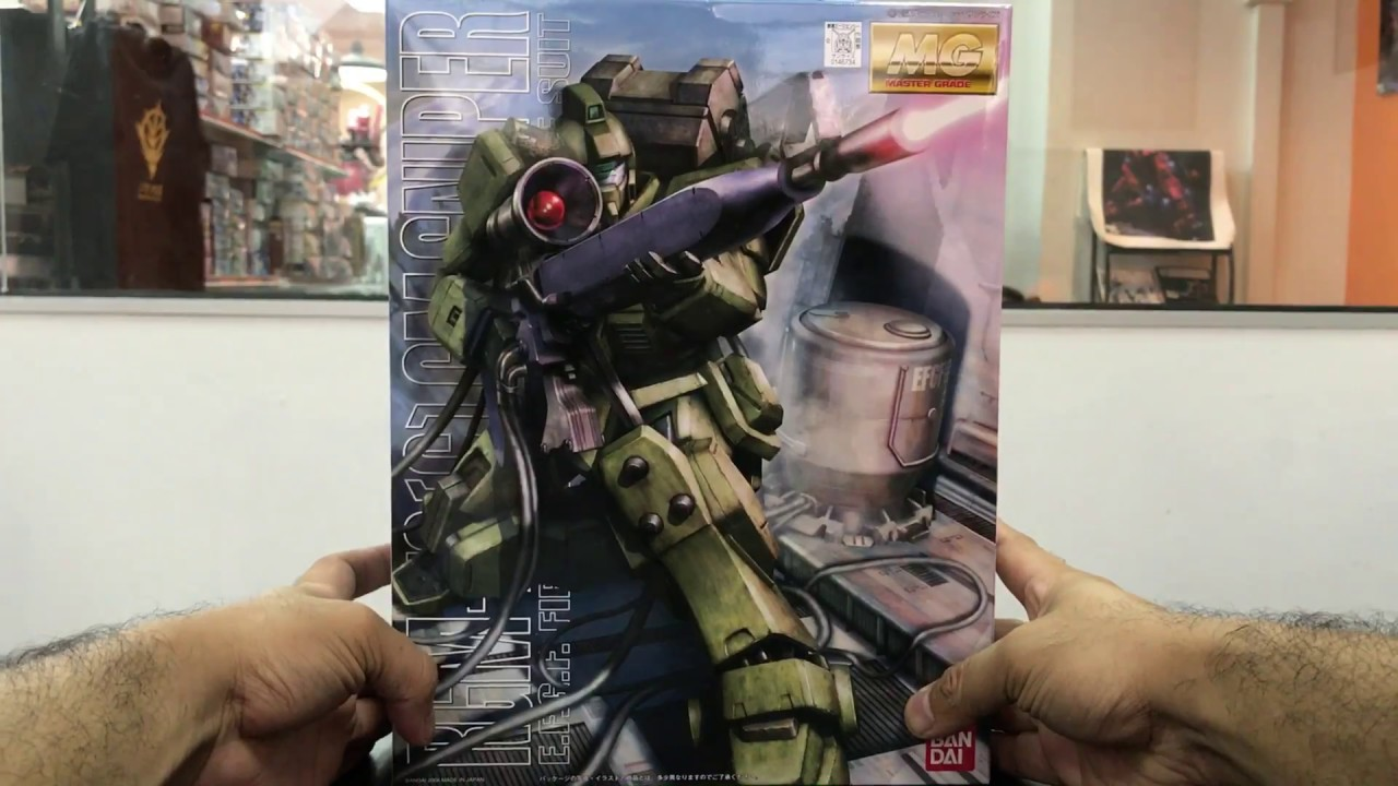 G GM Sniper GUNPLA MG Master Grade Gundam 1//100 BANDAI RGM-79