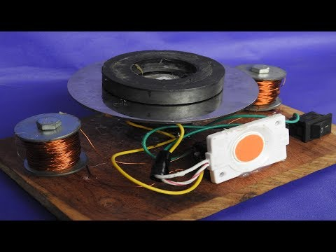 How to make speed fast motor by power DC Free Energy Generator with Magnet
