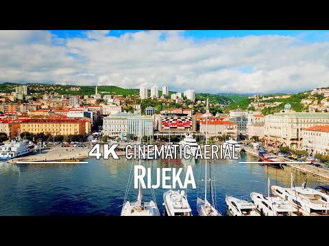 RIJEKA CROATIA Drone 4K || Hrvatska