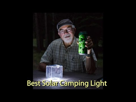 Best Solar Camping Light Review