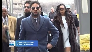 Jussie Smollett Sues City of Chicago
