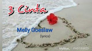 "This is my channel subscribe and like it ""3 cinta"" terdapat dlm album solo perdana Melly Goeslaw yg bertajuk ""Melly"" yg dirilis tahun 1999. Album ini berisi 10 ..."