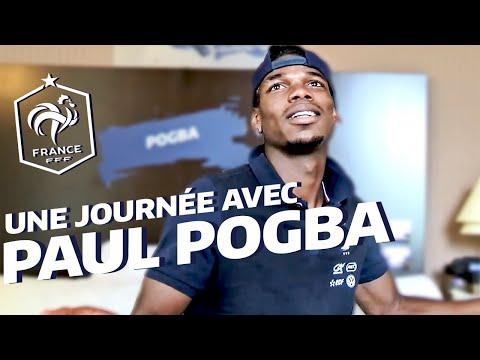 Une journée avec Paul Pogba à Clairefontaine, Equipe de France, Euro 2016 I FFF 2016