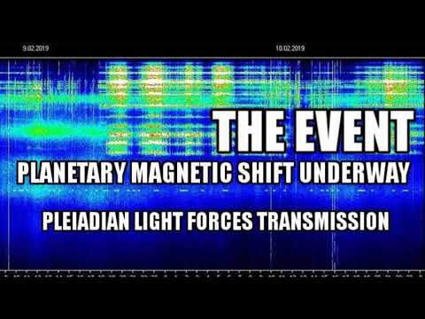 💙 )( * THE EVENT~PLANETARY MAGNETIC SHIFT UNDERWAY! * )( 💙 * PLEIADIAN LIGHT FORCES TRANSMISSION*
