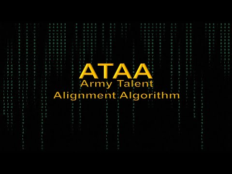 Army Talent Alignment Algorithm