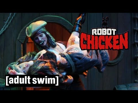 3 Robot Chicken Piracy Attempts | Adult Swim