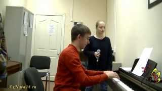Урок вокала. Микрофонные пробы.Ощущения. Поём джазовый стандарт
