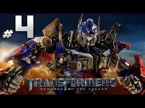 Transformers Revenge Of The Fallen - Autobot Campaign - Part 4 - G1 Optimus Prime Vs. Demolishor
