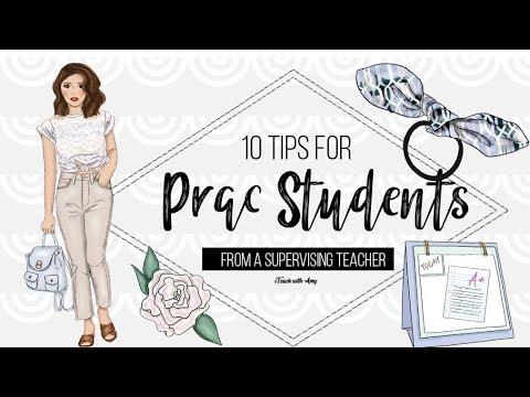 10 Tips For Prac Students - From An Australian Teacher